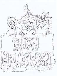 Disegni Di Halloween Per Bambini Da Colorare E Stampare Gratis