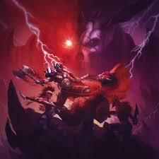 Blood Chrome Cover Illustration For Arc Neons New Album
