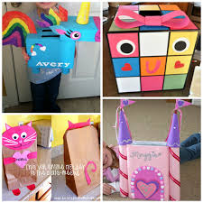 Valentine Shoe Box Decorating Ideas The Cutest Valentine Boxes that Kids will Love Crafty Morning 18