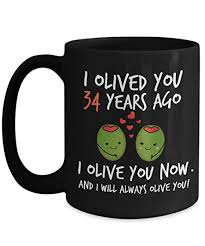 image unavailable image not available for color 34th wedding anniversary gifts