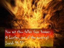Lucifer Light Bearer Isaiah 14 12 Lucifer The Light Bearer Biblical Gems Of