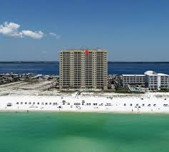 gorgeous 2br 2ba emerald isle gulf front condo on 16th floor pensacola beach