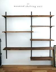 large wall shelving units large wall shelf intended for best shelves cb 3 piece floating large