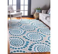 5 x 8 outdoor modern rug
