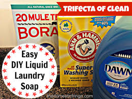 31 days of tricks living for less diy laundry soap the trifecta