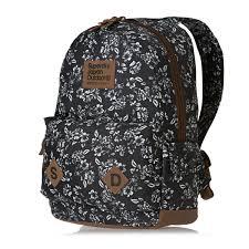 Superdry Freja Montana Backpack - Black Floral | Superdry ... & Superdry Freja Montana Backpack - Black Floral Adamdwight.com
