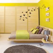 Cool And Elegant Grey And Yellow Bedroom For Sweet HomeYellow Room Design Ideas