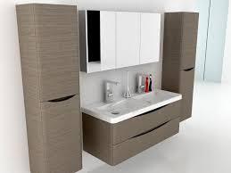 motiv 1200 wall mounted double basin vanity unit grey elm wall hung vanity units vanity units furniture