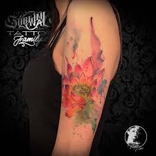 Tatuaggi Watercolor Subliminal Tattoo Family Tattoo Studio Monza