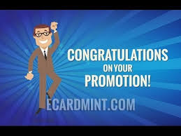 Congrats On Your Promotion Congratulations On Your Promotion Business Ecard Youtube