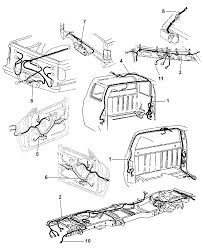 2001 dodge ram 2500 regular cab wiring body accessories diagram 00i51684