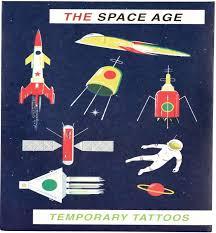 Dětská Sada Tetování Vesmír Skibi Kids