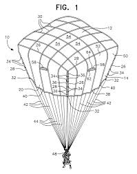 Mechanical electrical medium size patent us6443396 cruciform parachute with arms attached drawing control circuit