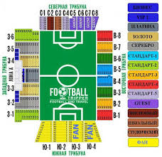 Olimp 2 Stadion Guide Fc Rostov Football Tripper