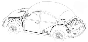 volkswagen restoration parts new vw parts volkswagon wiring vw wiring harness diagram at Vw Beetle Wiring Harness