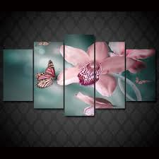 framed 5 piece butterfly orchid canvas wall art sets it make your day on orchid canvas wall art with framed 5 piece butterfly orchid canvas wall art sets it make your day