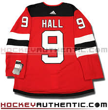 Pro New Nhl Devils - Taylor Authentic Hall Jersey Adidas