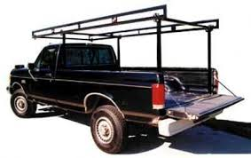 STEEL 1500 Full Size Floor Mount Truck Rack - Crosstread Ladder ...