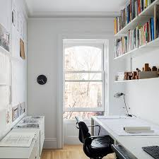 design office space dwelling. Small And Narrow Home Office \u0026 Study Design With Scandinavian Style [Design: Buck Projects Space Dwelling