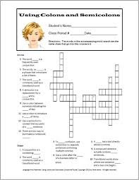 Semicolons And Colons Worksheets Semicolon Practice Worksheets Derminelift Info