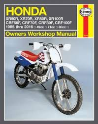 honda xr crf online service manual cyclepedia motorcycle images of honda xr crf online service manual cyclepedia haynes m2218 repair manual for 1985