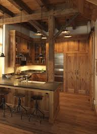 Image Cozy Rustic All Need Is Little Cabin In The Woods 34 Photos Rustic Exclusive Kitchens Liveable 1 Interior Pinterest Interior Rustic Cabin Kitchens All Need Is Little Cabin In The