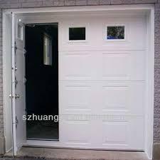 small garage doorRemote Control Galvanized Steel Pass Through Garage Door  Buy