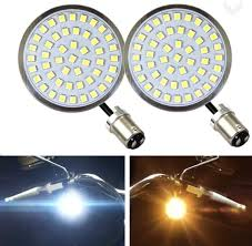 Bullet Lights For Harley Davidson Eagle Lights Generation Ii Front Led Turn Signals With White Running Lights For Harley Davidson Motorcycles 2 Inch Bullet Style Turn Signals