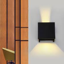 new 7w modern led wall light up down