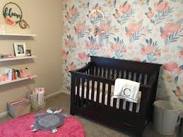 Readers\u0027 Favorite: Floral and Coral Baby Girl\u0027s Nursery - Project ...