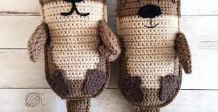 Free Crochet Pattern Cool Amigurumi Otter Family Free Crochet Pattern Spin a Yarn Crochet