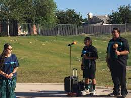 """Francene Fisher on Twitter: """"Celebrating Native American Heritage month  with a presentation by the Cahuilla Bird Singers. #pvsfirebirds  @PVSFirebirds #cahuilla… https://t.co/VdsRhwCTC5"""""""