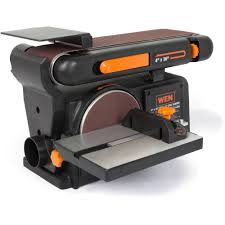 sanding disc machine. wen 4 x 36-inch belt and 6-inch disc sander with cast iron base - walmart.com sanding machine