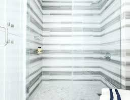 white and gray striped marble tile surround with chevron shower floor tiles cleaning cultured subway