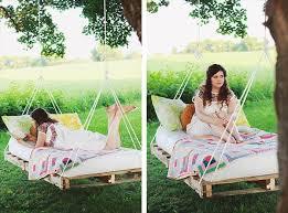 pallet swing bed renovation