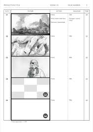 Storyboard Templates Film Storyboards