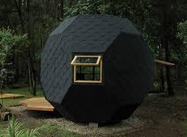 unique architectural designs. Black-habitable-polyhedron-unique-architectural-designs-pics Unique Architectural Designs H