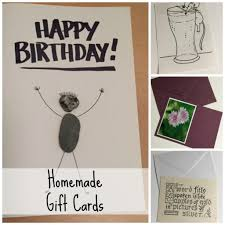 Homemade Gift Cards Nancy On The Home Front