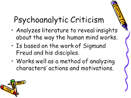 elt literary criticism introduction to literary criticism  23 psychoanalytic criticism