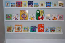 ana white  nursery room book shelves from  ledge plan  diy