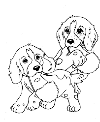Dogs coloring pages for kids. Free Printable Puppies Coloring Pages For Kids