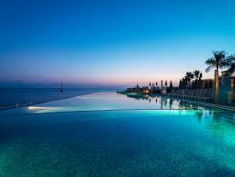 Infinity Pool Night Manava Suite Resort Polynesia Infinity Pool
