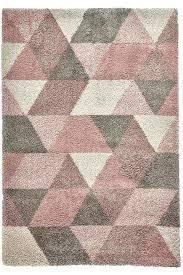 pink grey rug royal nomadic rose cream pink and gray geometric rug
