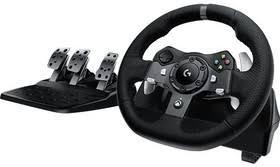 <b>Руль Logitech G920</b> Driving Force (с педалями) черный | купить в ...