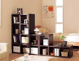 living with add book. large natural modern book shelving with dark brown of the materials that add nuance inside living room by existence