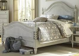 Liberty Bedroom Furniture Furniture Harbor View Iii Queen Poster Bed In Dove Gray 731 Br Qps