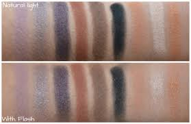 eyeshadow colors from l r are