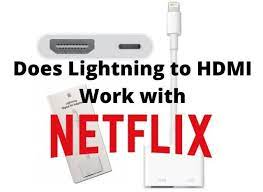 does lightning to hdmi work with