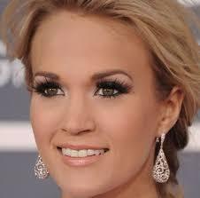 celebrity makeup inspiration carrie underwood s smokey eyes and black lashes celebritymakeup lashbeauty