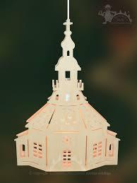 Fensterbild Beleuchtet Zum Basteln Seiffener Kirche Selbstmontage